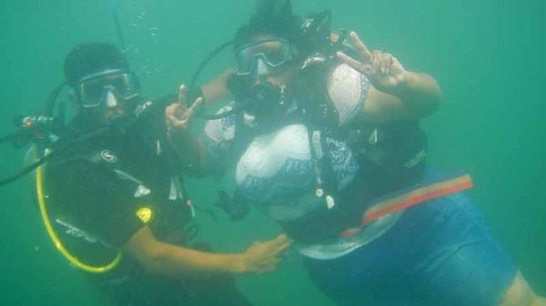 Scuba Dive at Grand Island Tour - Goa