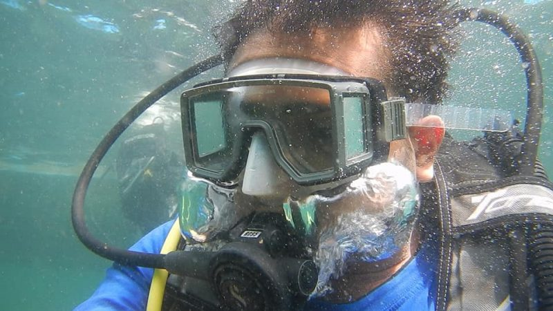 Scuba Diving at Grand Island, Goa