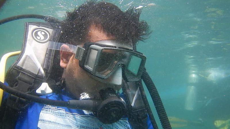 Scuba Diving at Grand Island ner Goa