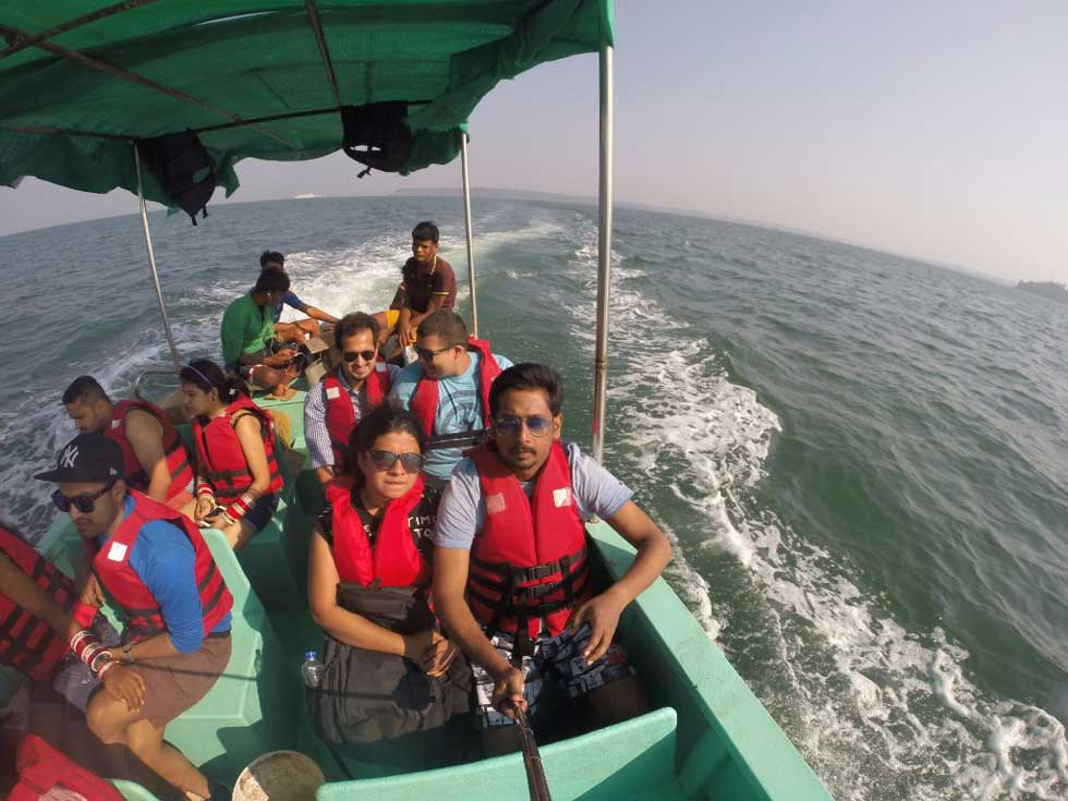 Boat Tour to Grand Island in Goa / Dolphin / Snorkeling ...